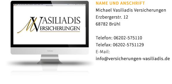 Michael Vasiliadis Versicherungen-Erstinformation